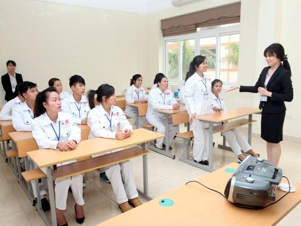Học tiếng Nhật tốt trước khi xuất khẩu lao động